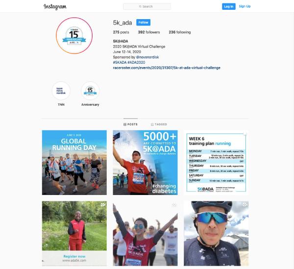 5K@ADA Instagram